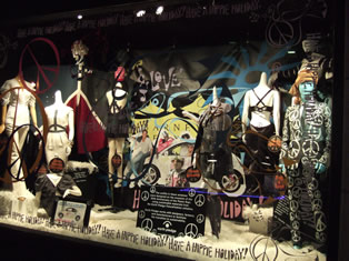 Barneys Holiday Window