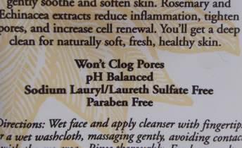 Bodycare Label